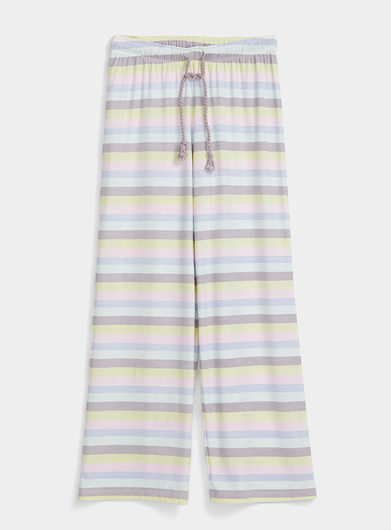 Splendid Assorted Vacation stripe pant for women
