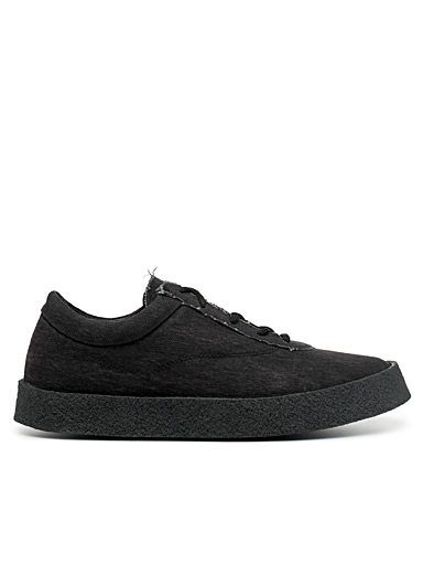 Faded canvas sneakers