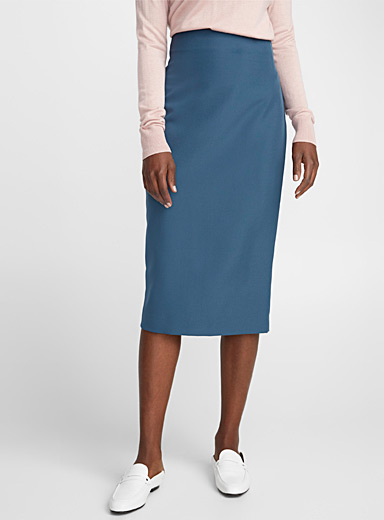 Minimalist pencil skirt