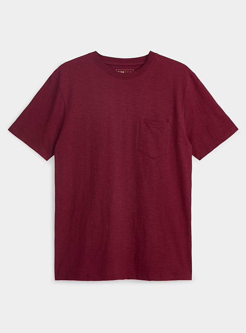 Organic cotton slub T-shirt