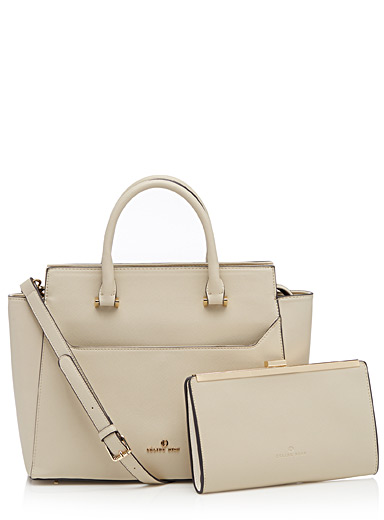 Grazioso satchel and clutch