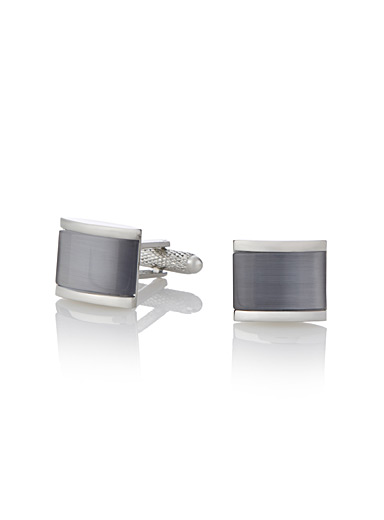Cat-eye cufflinks