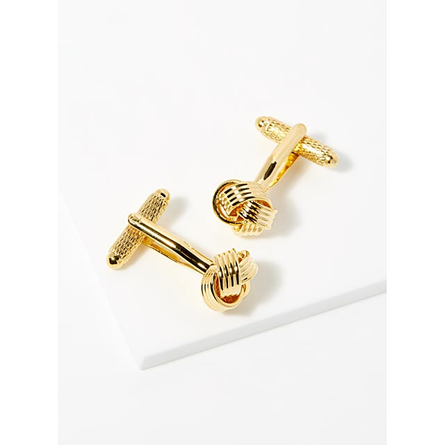 chinese-knot-golden-cufflinks