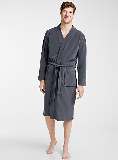 Micro polar fleece essential robe