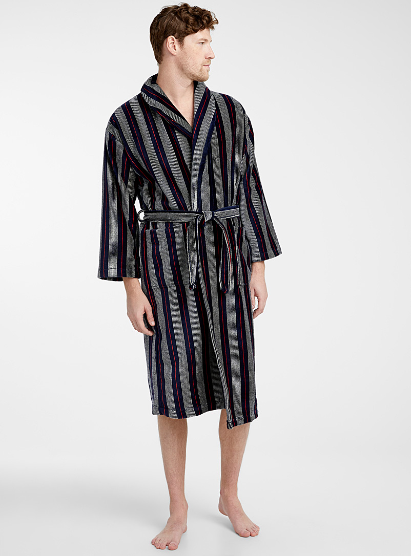 mixed-stripe-robe