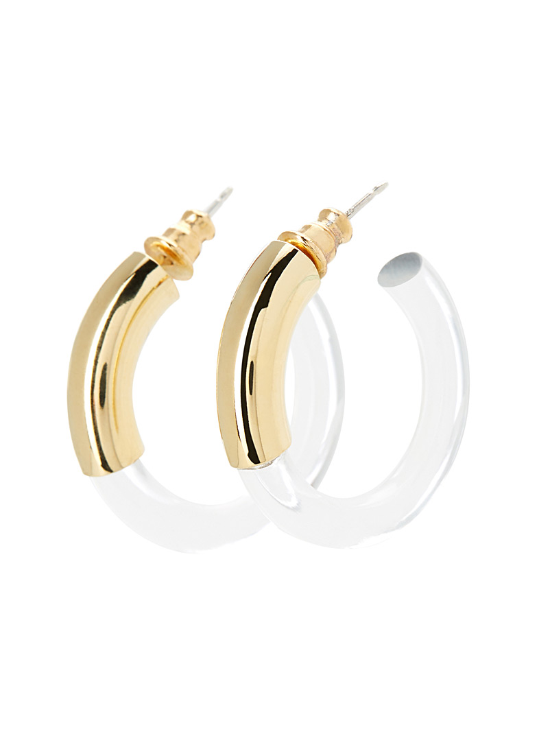 Mirage small hoops - Designer Jewellery - Assorted