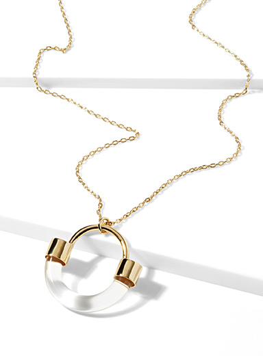 Fraction necklace