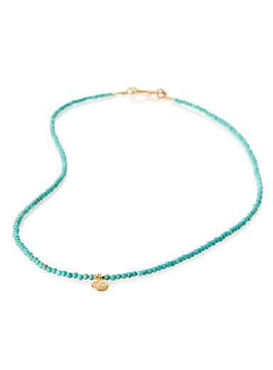 Le collier turquoise lotus