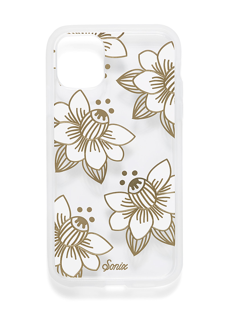 Pearly case for iPhone 11/XR - Phone cases - Patterned White