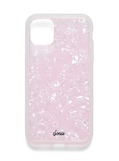 Sonix Pink Pearly case for iPhone 11/XR for women