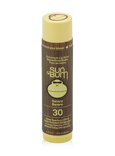 Banana SPF 30 sunscreen lip balm