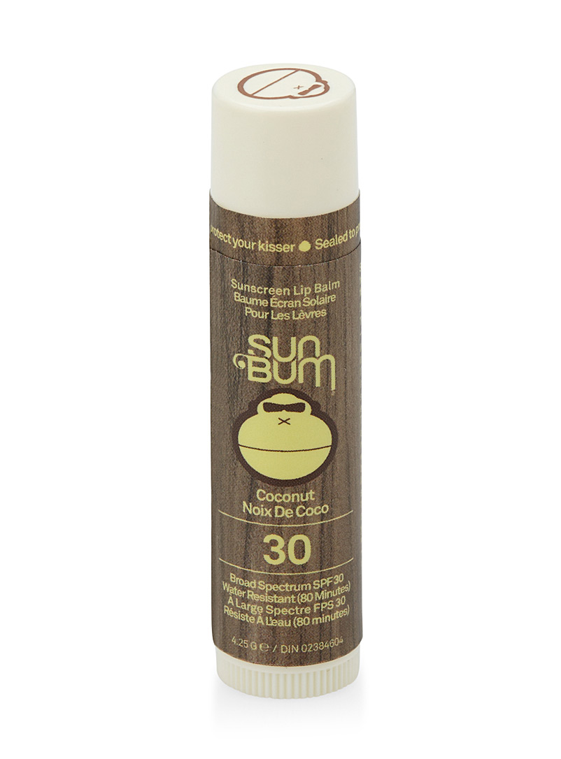 Coconut SPF 30 sunscreen lip balm - Accessories - White