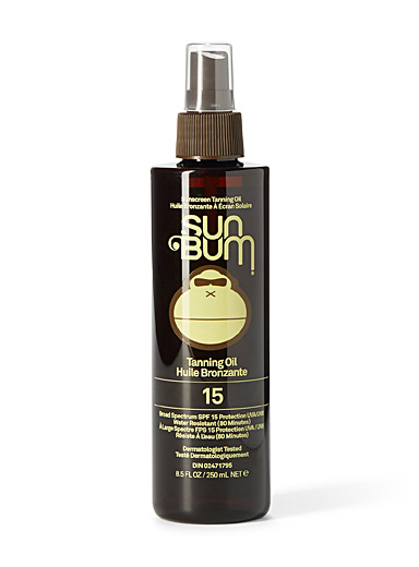 Sun Bum Assorted SPF 15 tanning oil for women