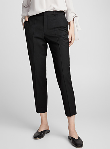 Emma ankle wool pant