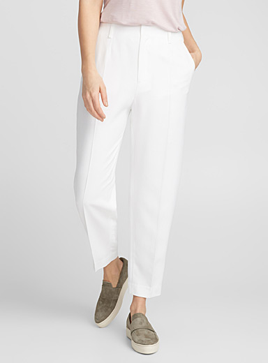 Karlie white high-rise pant