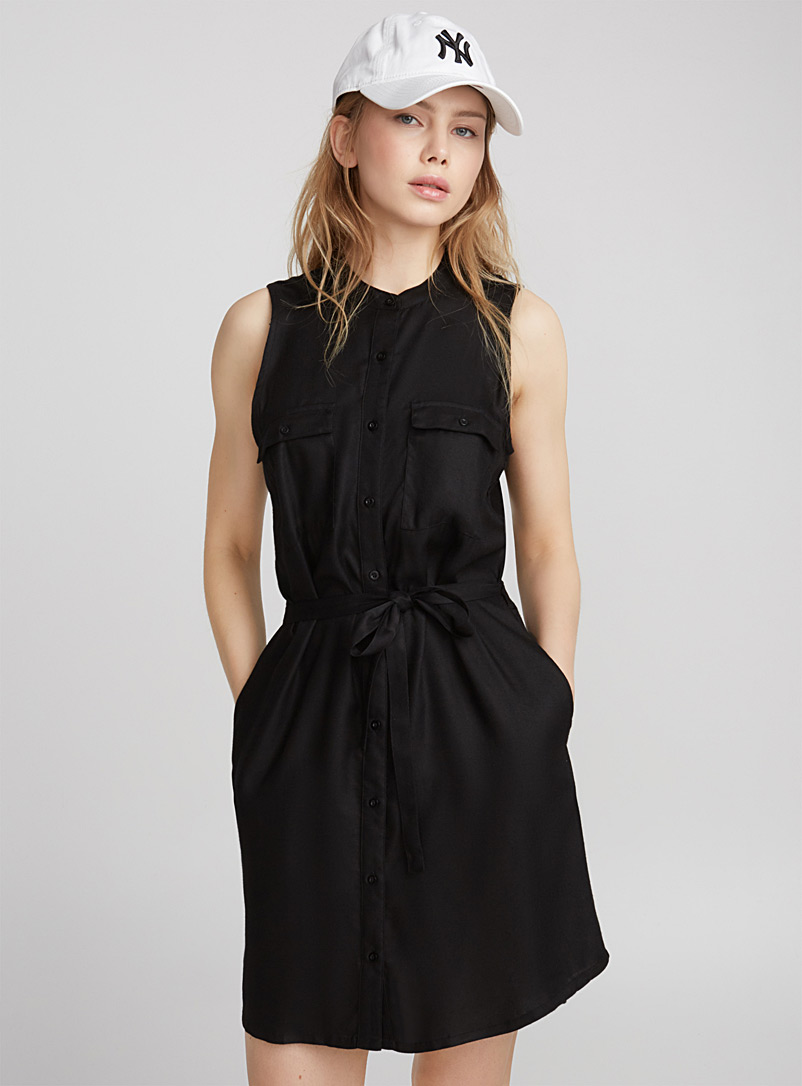 military-sleeveless-dress