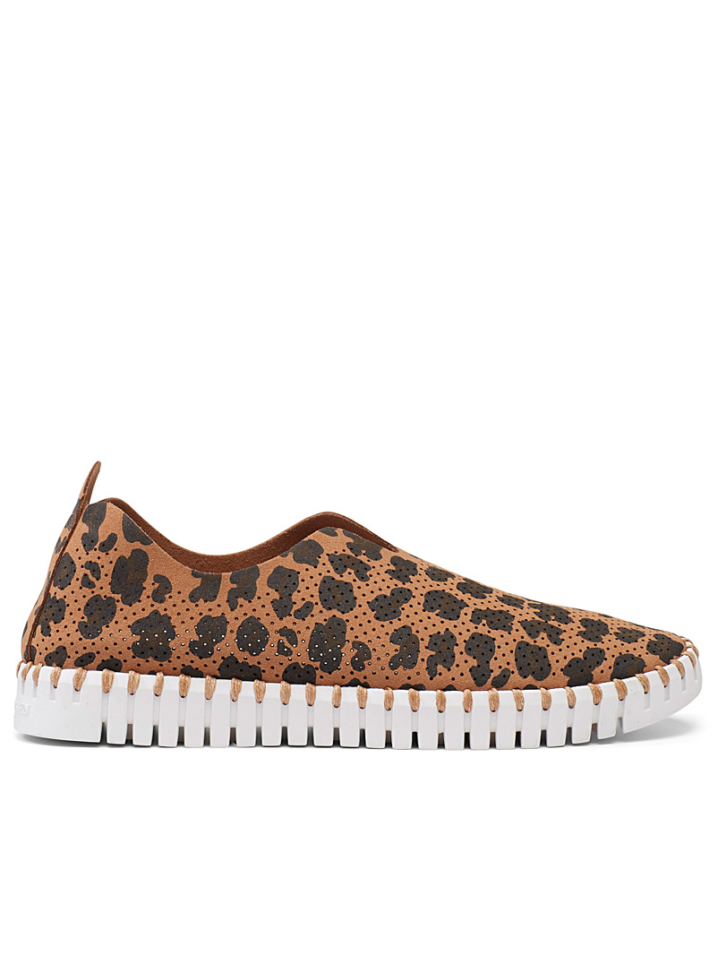 Ilse Jacobsen Patterned Brown Light leopard shoes for women