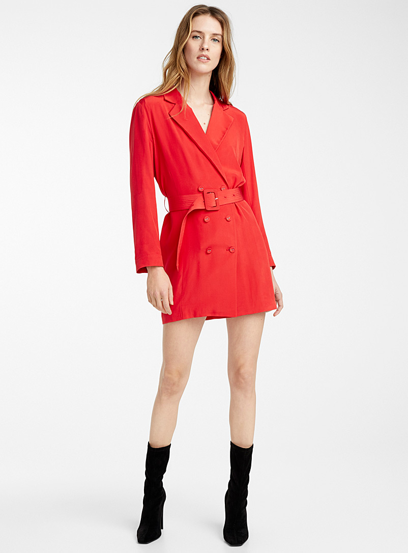 Blazer Jasper dress - Fleur du mal - Red