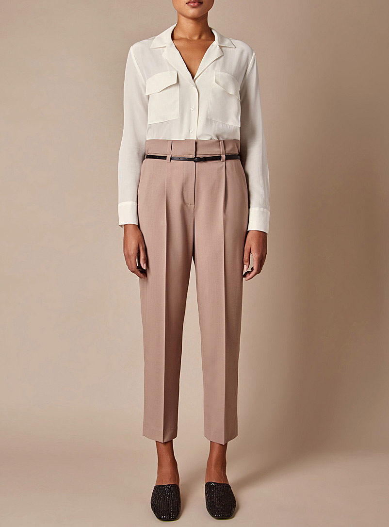 Judith & Charles Toast Chartres cinnamon pink pant for women