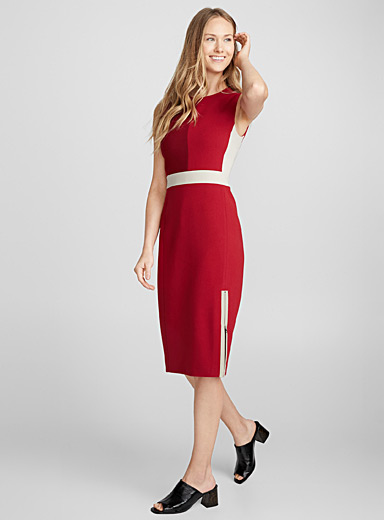 Alecia colour block dress
