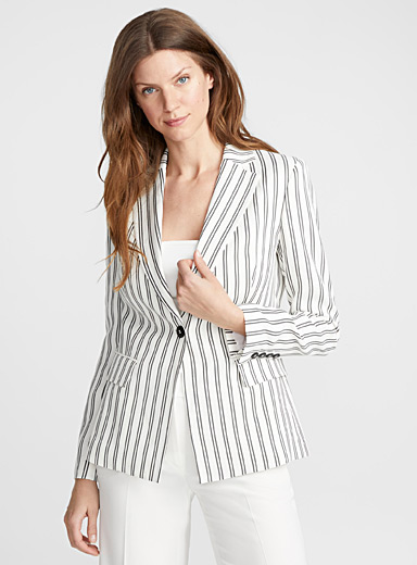 Double stripe jacket