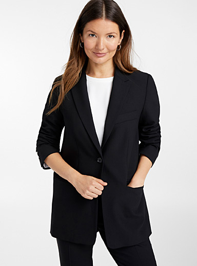 Roma virgin wool straight jacket