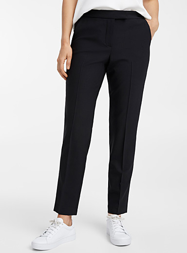 Clive virgin wool ankle pant