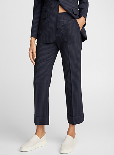 Method B banker stripe pant