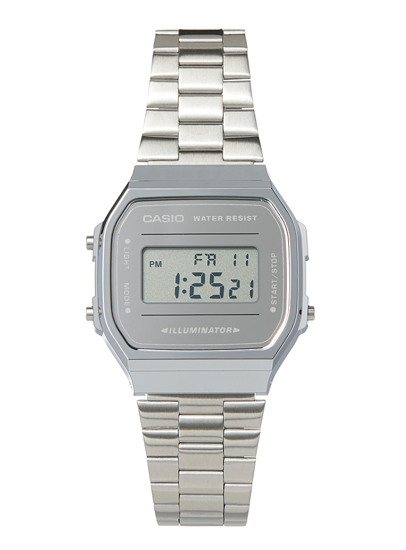 Casio Silver Silver vintage watch for women