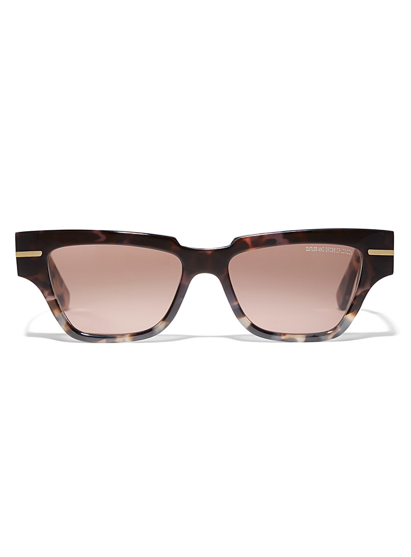 Cutler and Gross Oxford Chic rectangular sunglasses for women