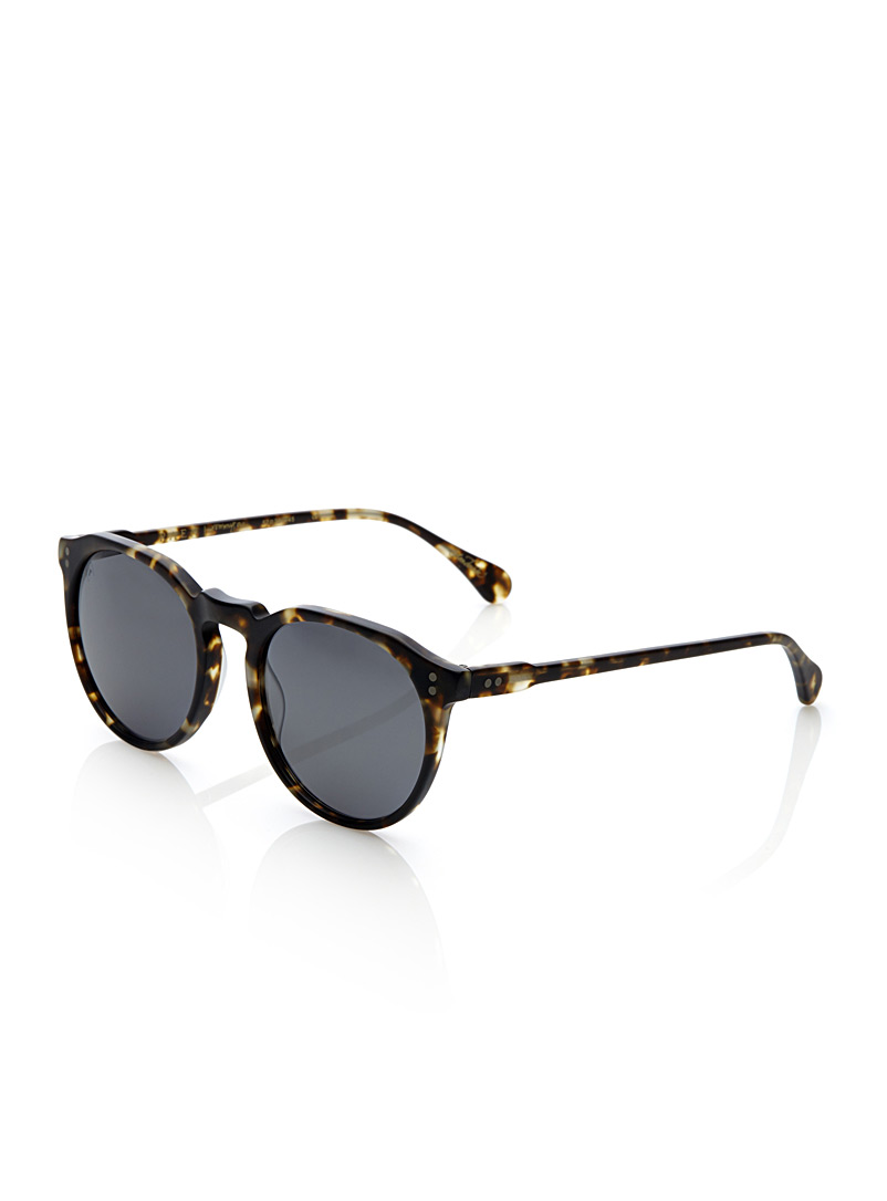 Remmy sunglasses - Designer - Patterned Brown