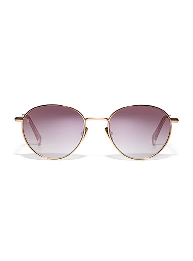Andreas round sunglasses
