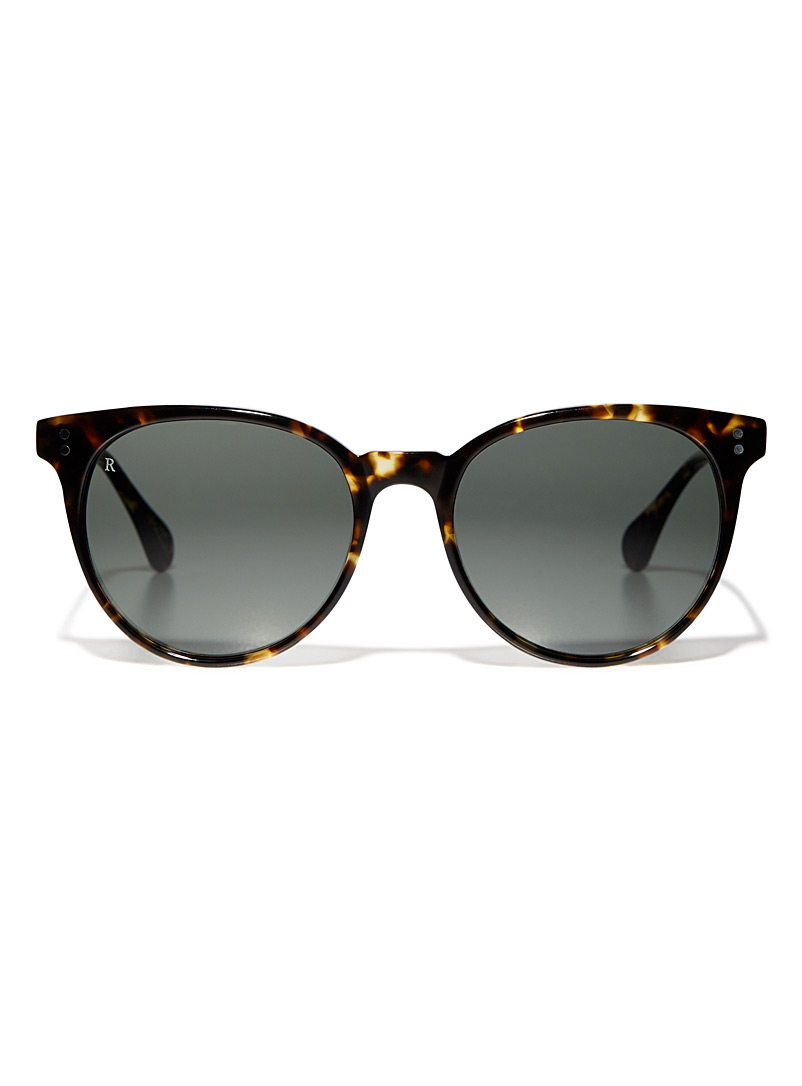 Norie tortoiseshell round sunglasses - Designer - Light Brown