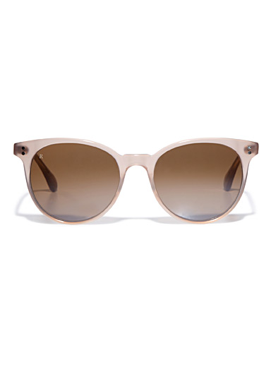Norie pink round sunglasses