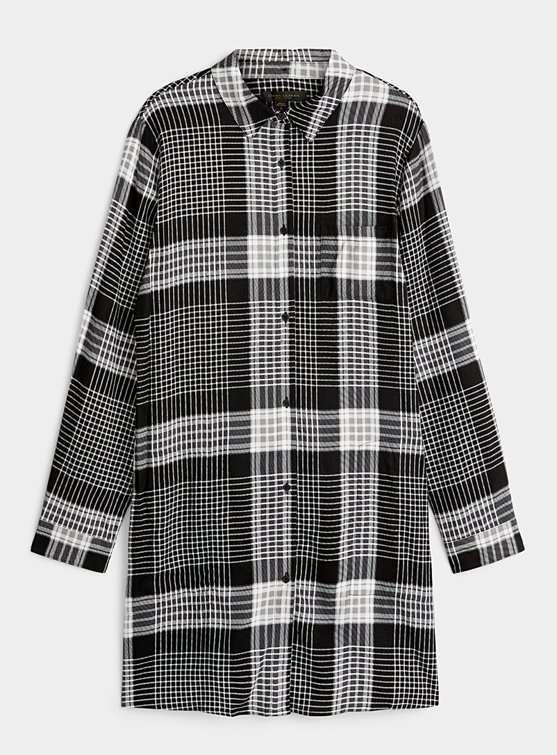 Cottage check nightshirt
