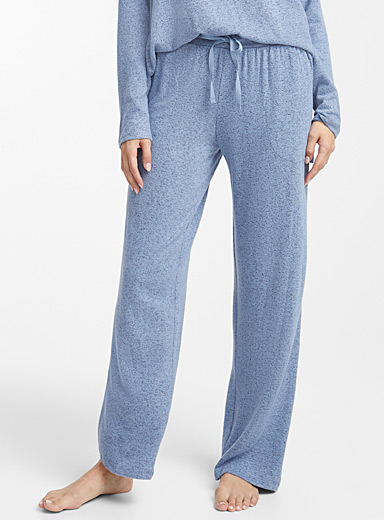 Heather blue pant