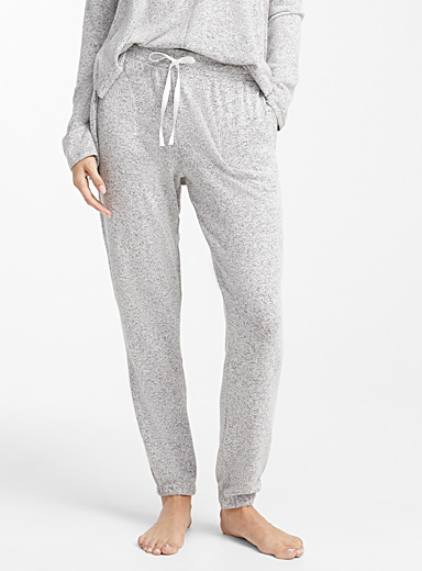 Heather grey lounge joggers