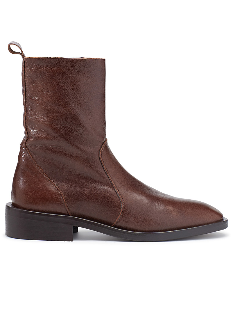 Brown Manchester boots - Boots