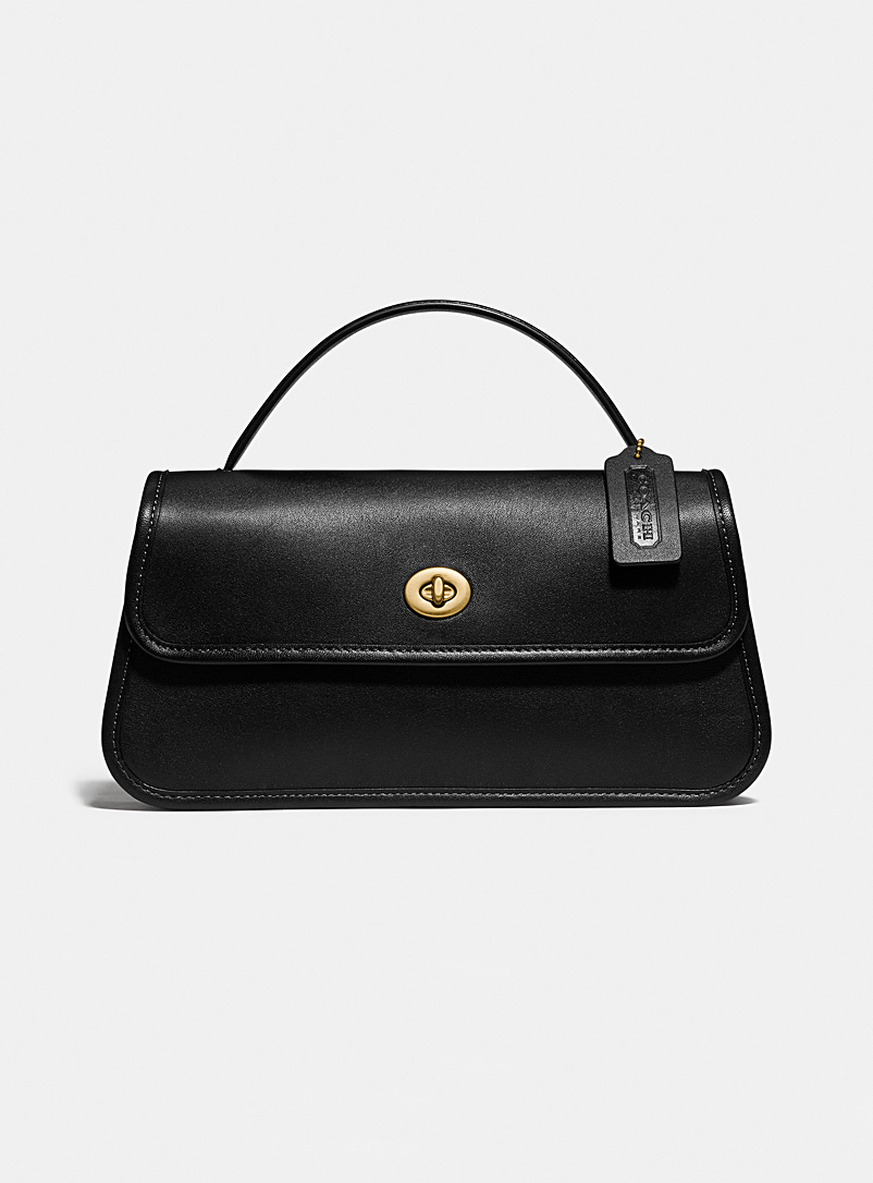 Coach Black Turnlock clutch for women