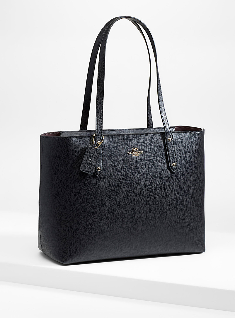 Coach Black Central tote for women
