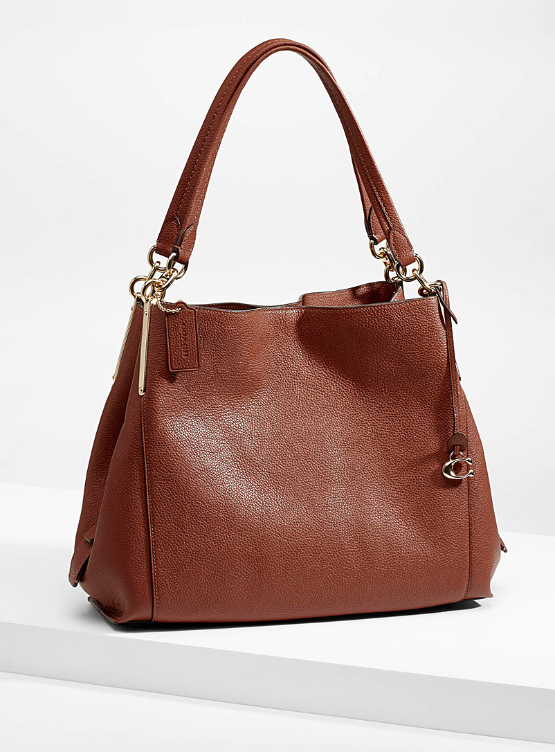 Coach Brown Dalton bag for women