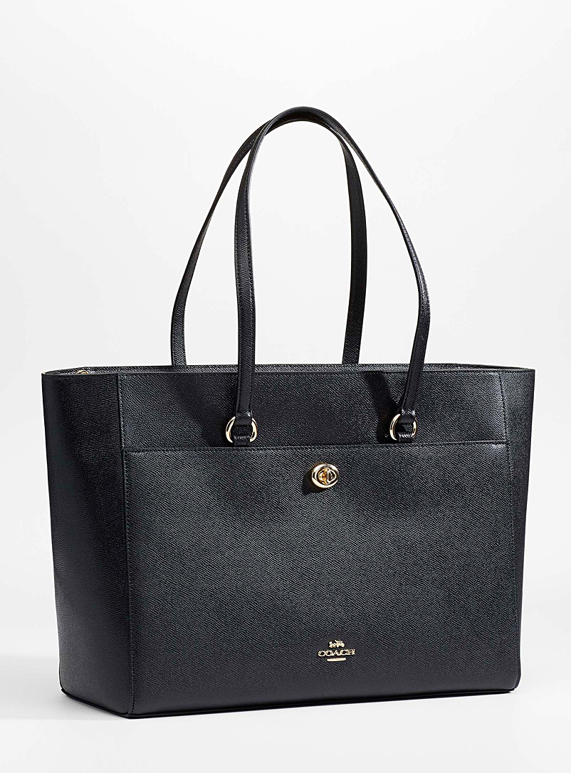 Coach Black Folio tote for women