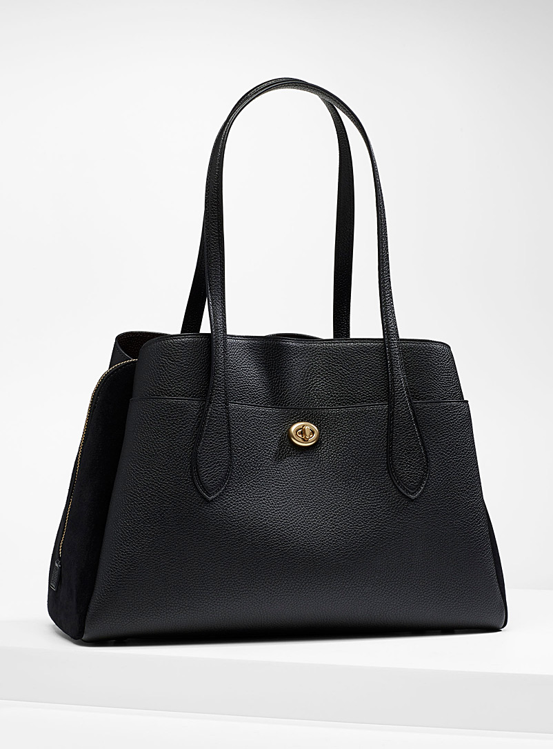 Coach Black Lora carryall bag for women