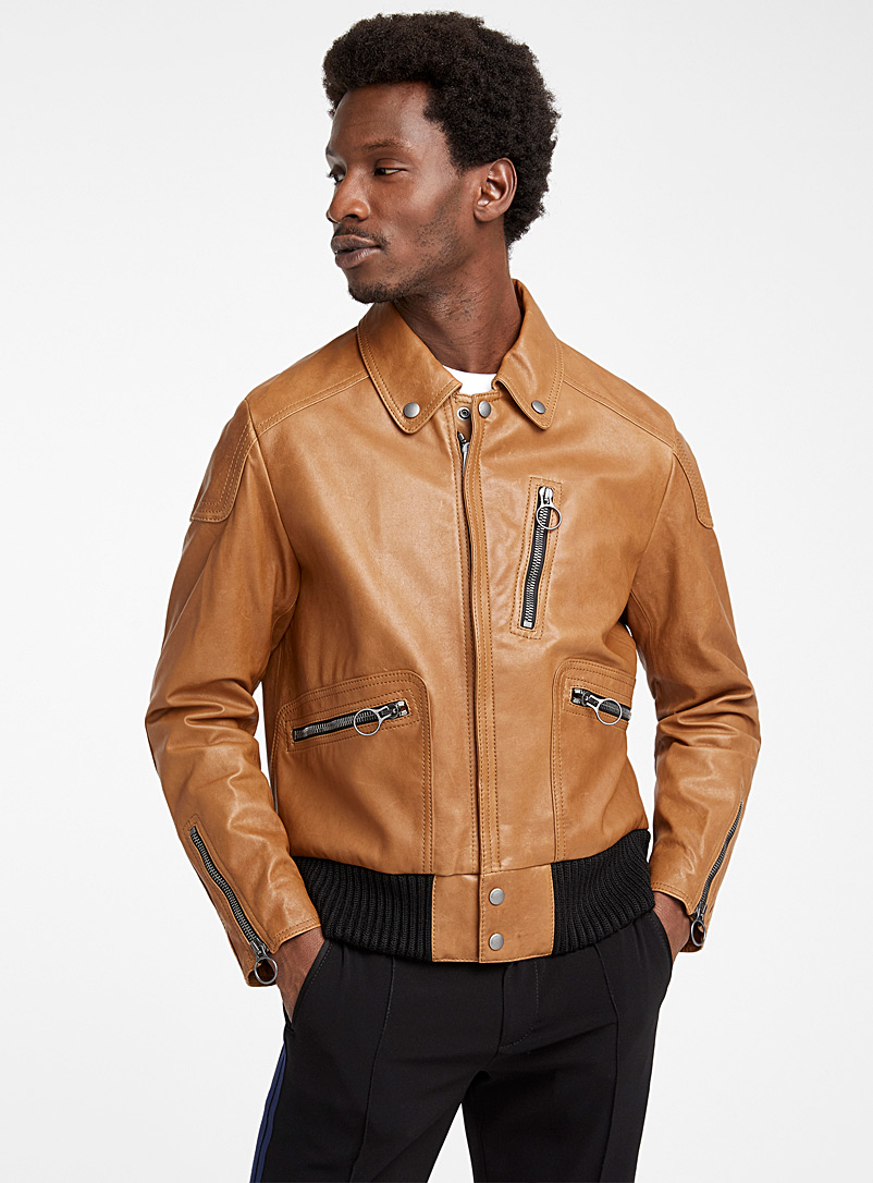 Coach 1941 Fawn Biker jacket for men