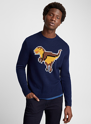Le pull Rexy jacquard