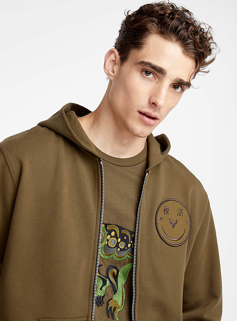 Rexy Yeti Out hoodie - Coach - Mossy Green