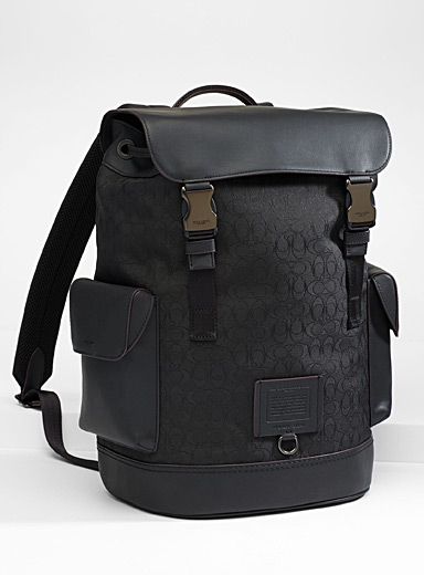 Rivington signature jacquard backpack