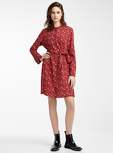 Horse and carriage shirtdress