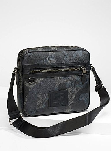 Signature Wild Beast print messenger bag