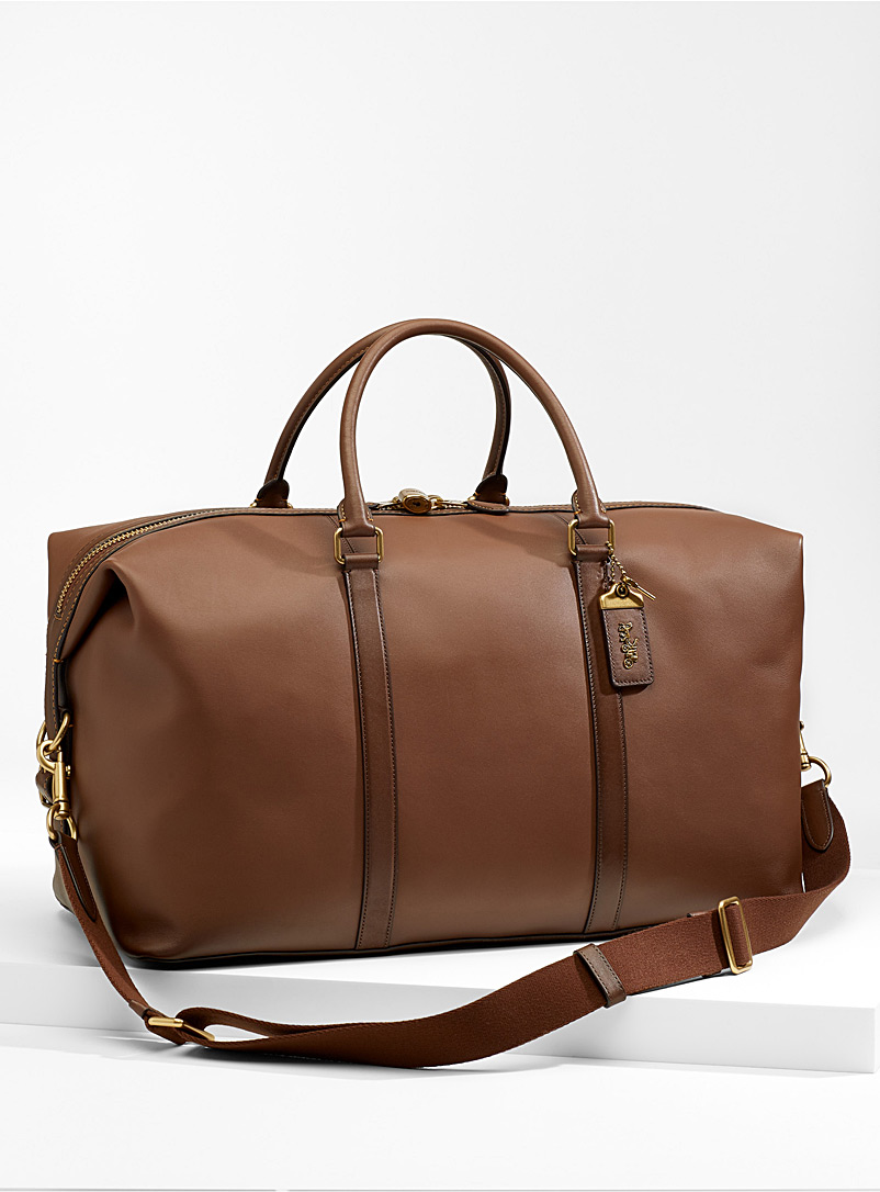 Metropolitan weekend bag - Designer Bags - Light Brown